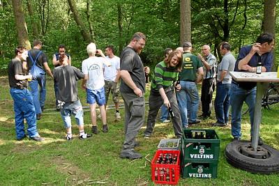 2007_SV_Schuetzenfest_Aufbau_Vogelstange_008