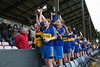 EEjob 13/11/2017 SPORT Allianz Sciath na Scol Finals at Páirc Uí Rinn. Rathduff v Barryroe.  Rathduff captain Eimear Henchion holds the cup high with her team mates at presentation.   picture: Andy Jay