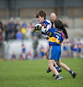 EEjob 13/11/2017 SPORT Allianz Sciath na Scol Finals at Páirc Uí Rinn. Rathduff v  .GS Chionn tSaile.  GS Chionn tSaile's Senan Ó hEathairn fight for possession,.  Picture:Andy Jay