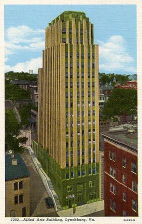 Postcard of Allied Arts Building (1931) (02455)