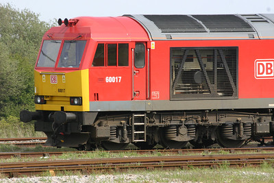 60017 - DB Schenker red