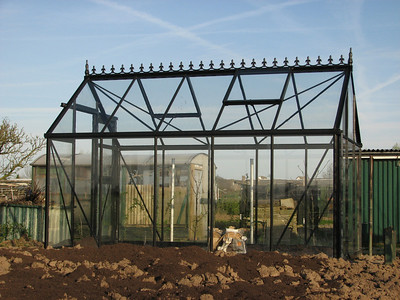 The Victorian style glasshouse