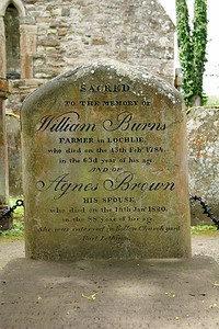 Burns Gravestone
