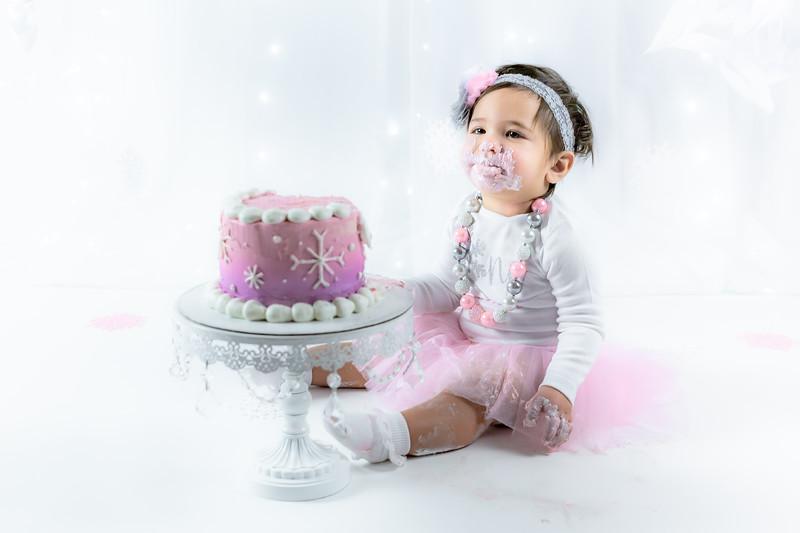 Allred 12 Month Cake Smash44