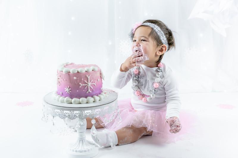 Allred 12 Month Cake Smash43