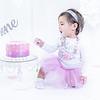 Allred 12 Month Cake Smash29