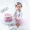 Allred 12 Month Cake Smash35