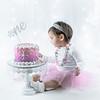 Allred 12 Month Cake Smash33