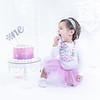 Allred 12 Month Cake Smash30