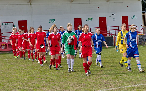 Gillingham Ladies Football  V MK Dons 10 April 2016