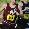 Ayer Shirley Regional High School William Ernst competes in the 800 during the All State Meet at Elliot Field Athletic Complex at Fitchburg State University on Saturday, June 2, 2018. SENTINEL & ENTERPRISE/JOHN LOVE