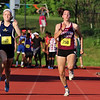 Westford Academy junior Meline Almasian competes in the 100 during the All State Meet at Elliot Field Athletic Complex at Fitchburg State University on Saturday, June 2, 2018. SENTINEL & ENTERPRISE/JOHN LOVE