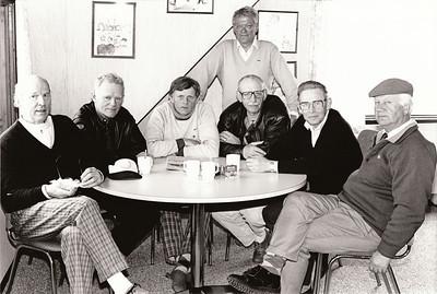 Fv. Ólafur Ágúst Ólafsson GR, Gísli Sigurðsson GK, Karl Hólm GK, Eiríkur Smith GK, Hafsteinn Þorgeirsson GR, Knútur Björnsson GK.