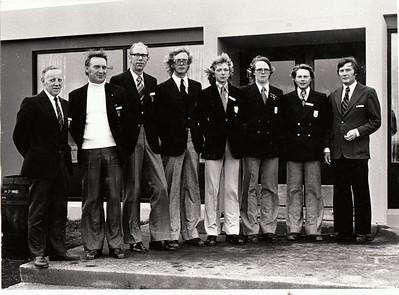 Fv. Þorvaldur Ásgeirsson GSÍ, Þorbjörn Kjærbo GS, Jóhann Benediktsson GS, Björgvin Þorsteinsson GA, Sigurður Thorarensen GK, Ragnar Ólafsson GR, Loftur Ólafsson NK, Pétur Björnsson GSÍ.