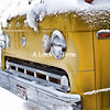 Yellow Truck. Trinidad, Co.