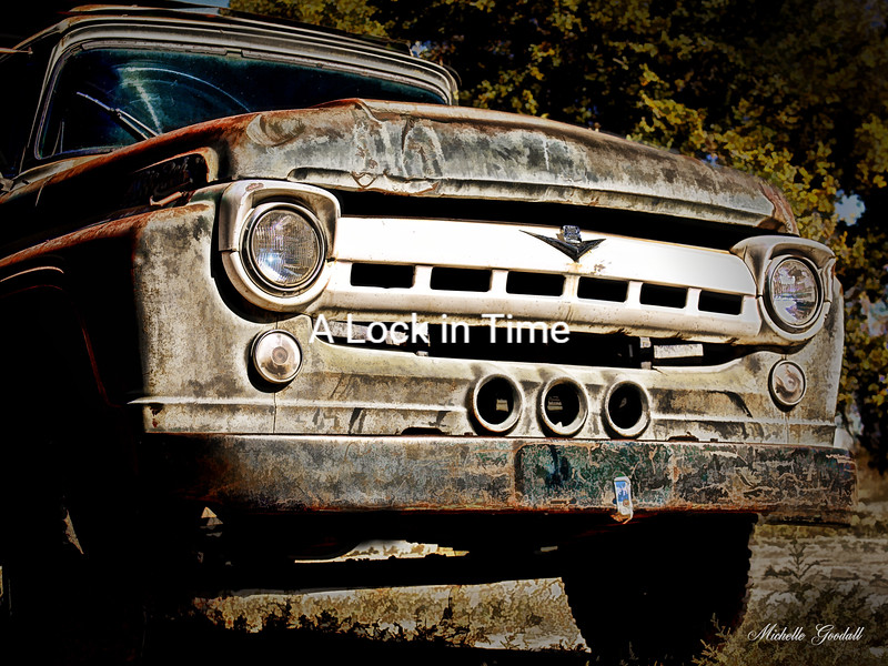 Joey's Truck has seen better days!