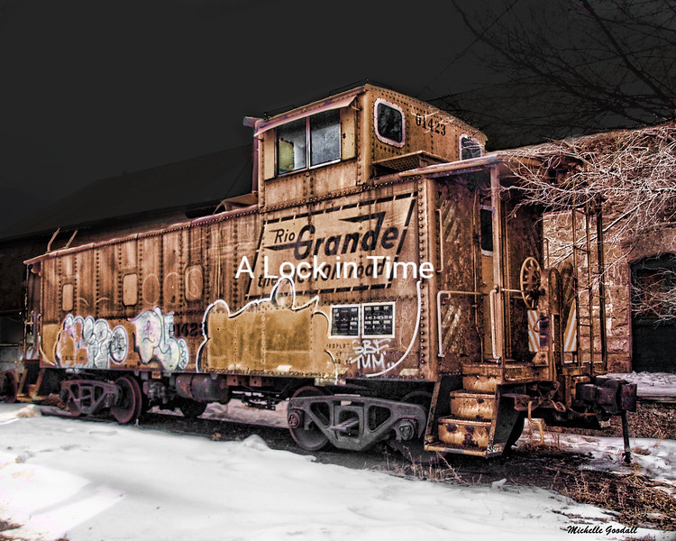 Loved this old box car. I found it in a rail yard in Monte Vista, Colorado