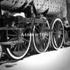 An old steam engine left to roy in Monte Vista Colorado