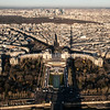 Eiffel tower shadow