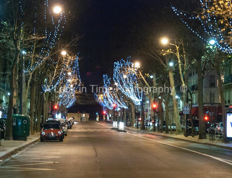 lights on side streets