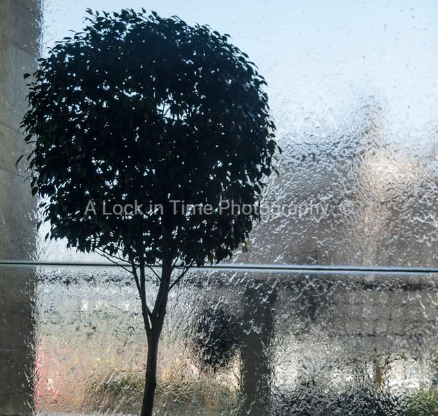 waterfall in front of the Taj Mahol