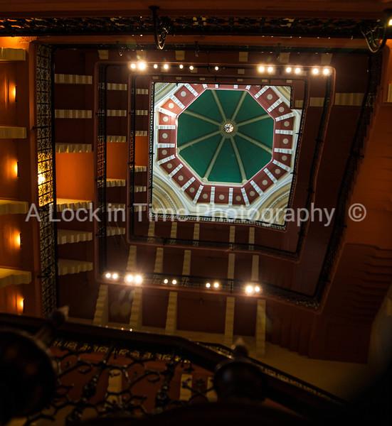 Taj Mahol ceiling