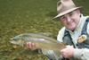 This is me with a fantastic brown trout from the Opihini River, New Zealand