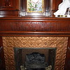 It took me awhile to decipher the quote on the mantel, much to AllySON's delight