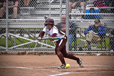 The Alma College softball team improved to 11-1 in MIAA play on Sunday as it swept Olivet. (Sun photos by Paul Beroza)