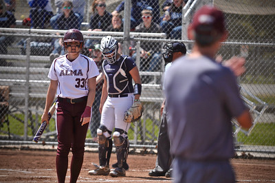 Alma College advanced to Friday's MIAA tournament title game as it defeated Saint Mary's and Hope. (Sun photos by Paul Beroza)
