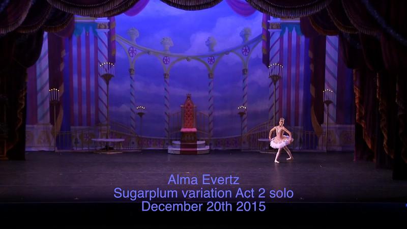 Alma Evertz 160112