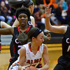 Alma jumped early and hard on visiting Carrollton and took a 60-31 win Friday, Jan. 13, 2017. (MIPrepZone photo gallery by Skip Traynor)