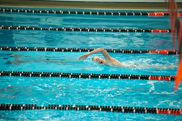 Allegan Conference Swim Meet Feb 2013