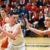 Frankenmuth used a huge third quarter to oust Alma from the regional playoffs at Corunna High School Monday, March 13, 2017. (MIPrepZone photo gallery by Skip Traynor)
