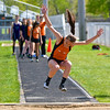 The Alma girls track team rolled over Swan Valley while the Valley boys nipped the Panthers in a Tri-Valley Central Conference dual meet at Alma Wednesday, May 3, 2017. (MIPrepZone photo gallery by Skip Traynor)
