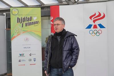 Hjólað í vinnuna 2013