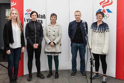 Hjólað í vinnuna 2014