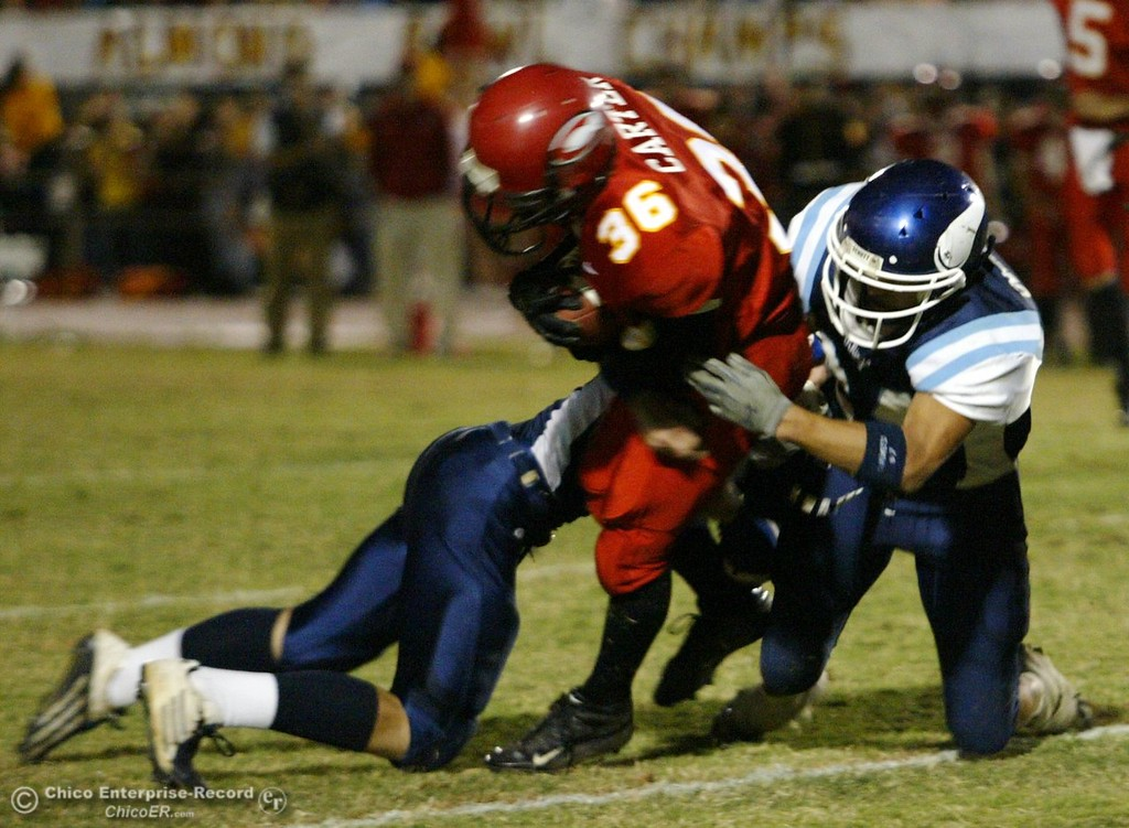 . During Chico PV football Almond Bowl Friday 2005 at the University Stadium. PV won 28-22 - halley photo 10/14/05