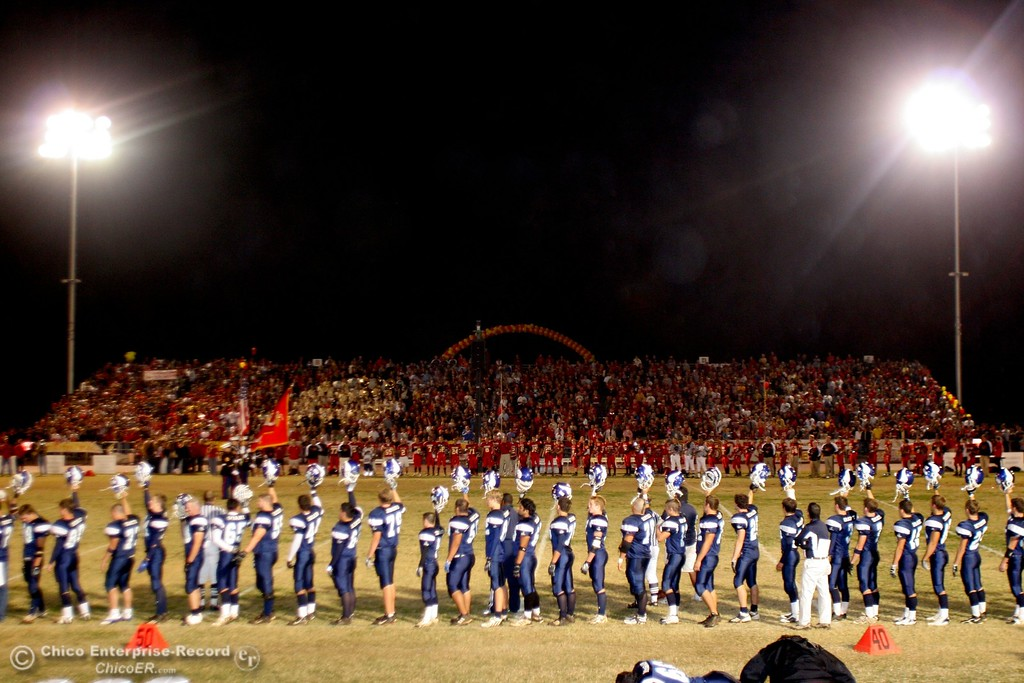 . Chico High against PV High in the 2006 Almond Bowl XXXVI football game at University Stadium Friday night. - halley photo 10/13/06