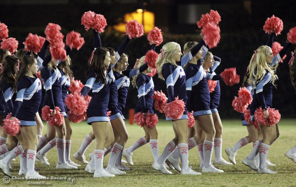 . Chico High against Pleasant Valley High in the third quarter during their Almond Bowl XLI football game at CSUC University Stadium Friday, October 21, 2011 in Chico, Calif. (Jason Halley/Chico Enterprise-Record)