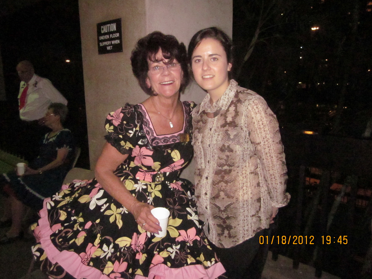 Judy and her beautiful grand daughter Maddison, from Australia!