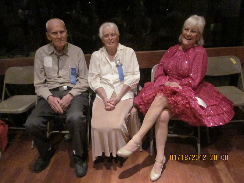 Tom - Joyce - Mary Jane, all from CA