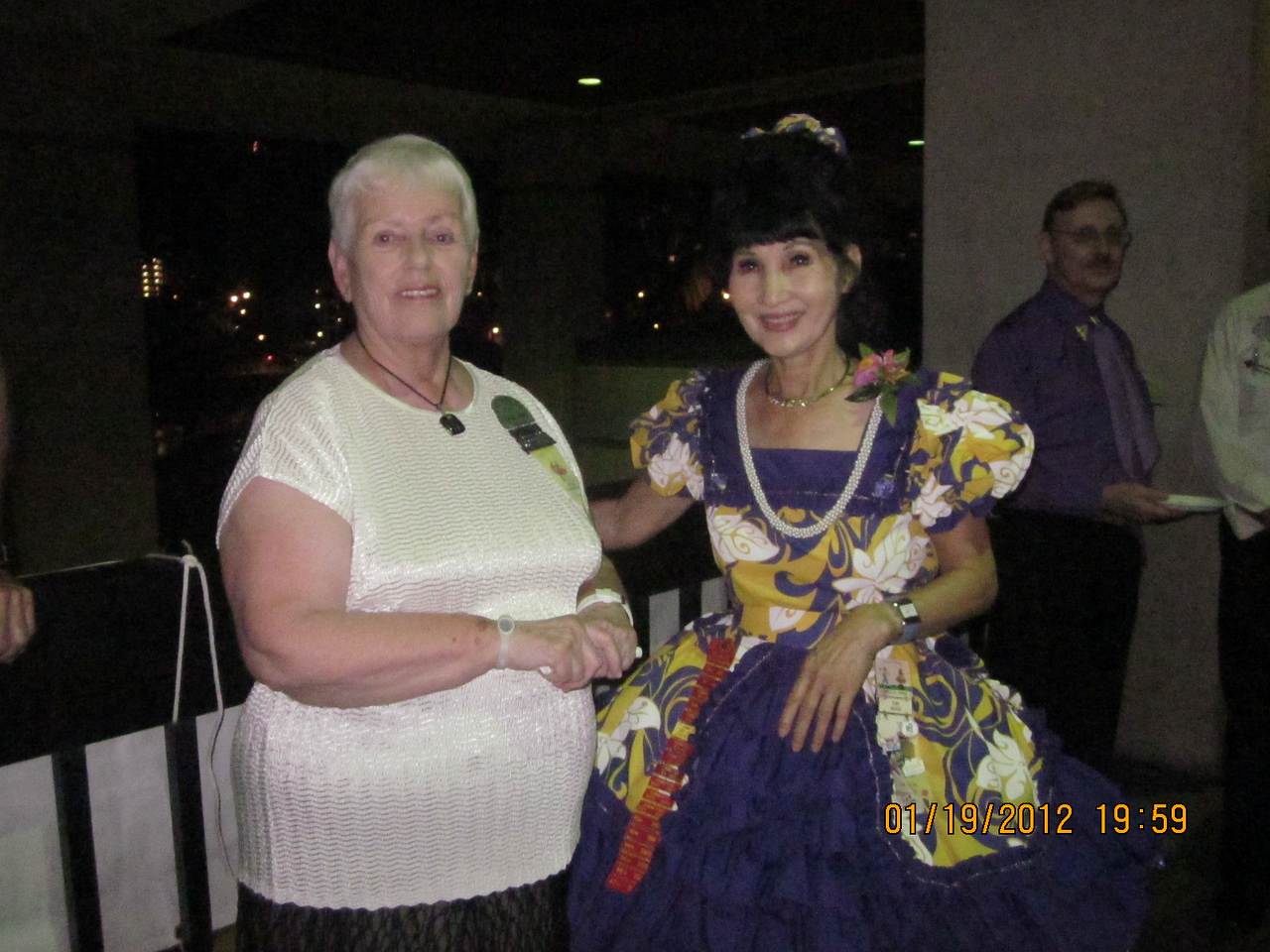 Donna Baba with mommy Kim..
