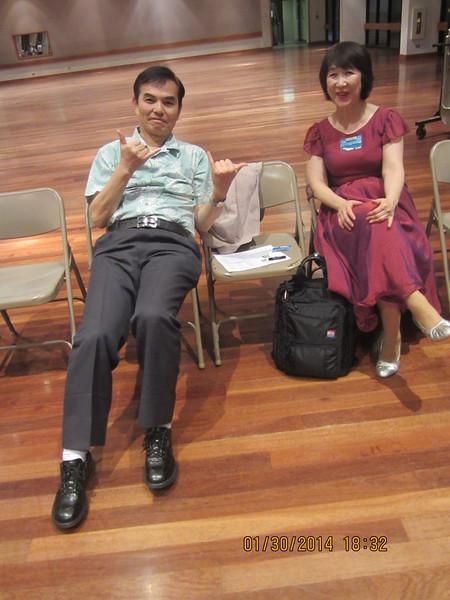 Marc and Hiroko San (Japan)