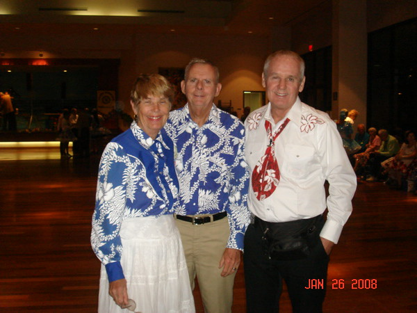 Before the grand march.. Jean & Roger &?