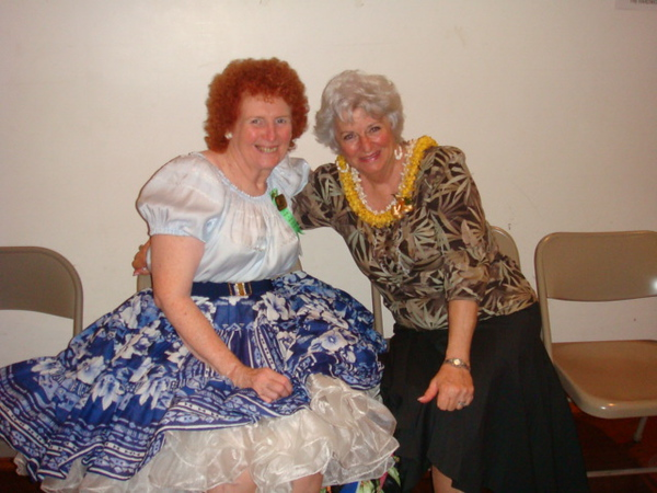 Patricia and Linda
