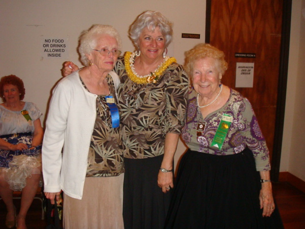 Joyce - Linda - Wanda, will turn 88 on Monday 2nd Feb.