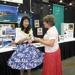 Beverly answered questions.. She did a lot to promote Hawaii state convention... Thank you, Beverly!