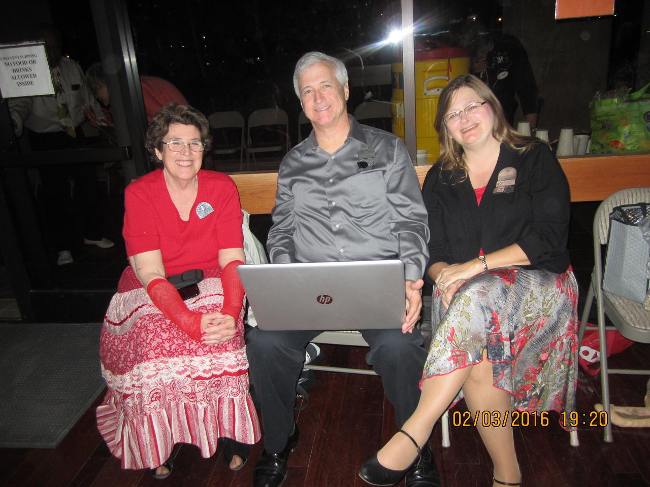 Judy Keller Smith with Dan & Allison