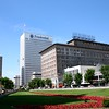 Downtown Newark from Military Park